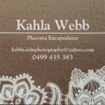 Kahla Erin Photography and Placenta Services